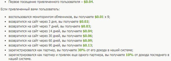 заработок на партнерской программе bestchange