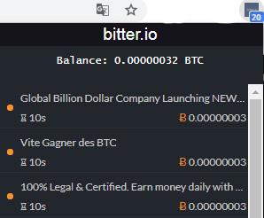 расширение Bitter io