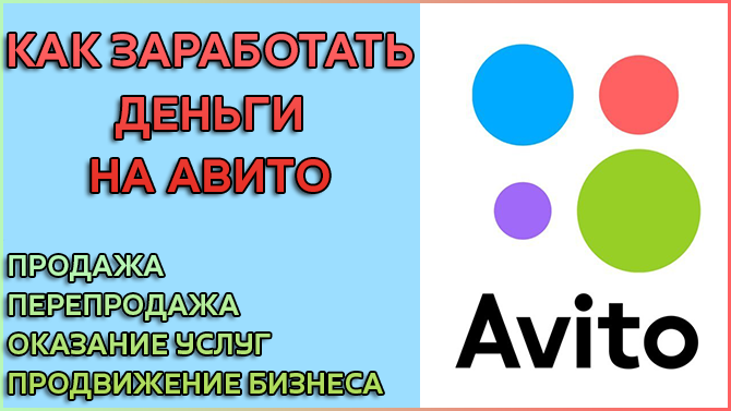 Как заработать на Авито - лучшие и честные способы
